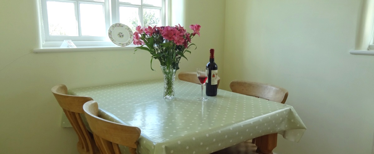 Kitchen table to enjoy sociable meals together.